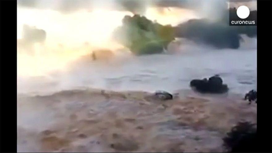 Les célèbres chutes d'Iguazu se déchaînent après des pluies torrentielles en Argentine