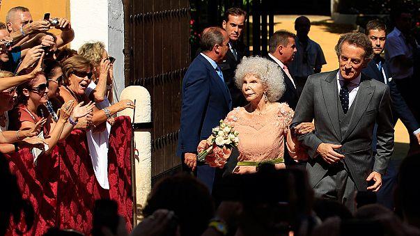 La salud de la duquesa de Alba se resquebraja