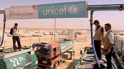 Water resources under strain in Zaatari