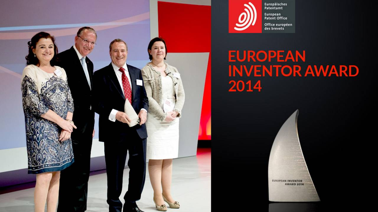 European Inventor Award 2014 live ceremony