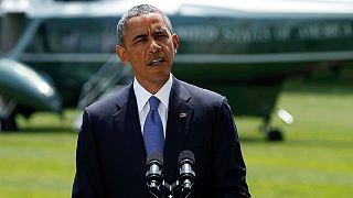 سخنان باراک اوباما درباره درگیری ها در عراق