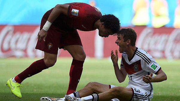 Mundial 2014: Merkel aplaude tragédia alemã de Portugal no Brasil