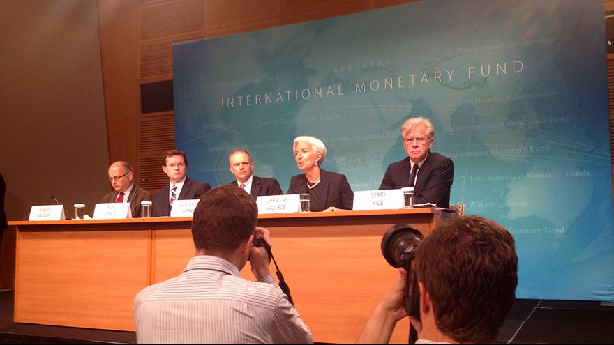 IMF not happy with US performance