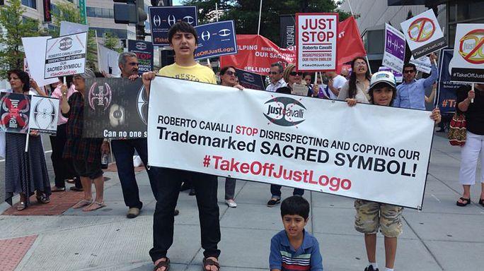Tiltakozáshullám Cavalli logója ellen