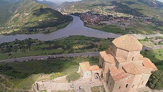 تفلیس، یادگاری تاریخی در دامنه کوههای قفقاز