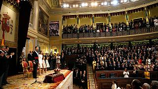 As it happened: King Felipe VI officially sworn in after Juan Carlos' abdication