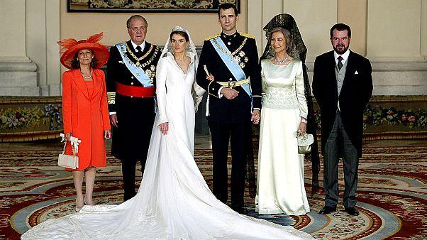 Letizia traz sangue vermelho ao azul real espanhol