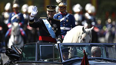 Felipe VI takes over as king of Spain