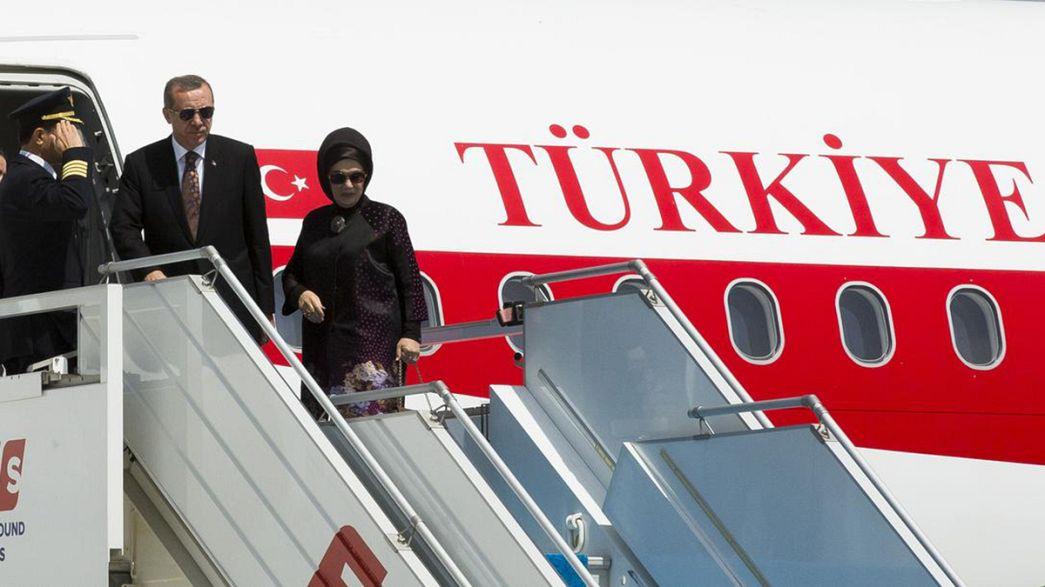 Başbakan Erdoğan, Avusturya ve Fransa ziyaretlerine başladı
