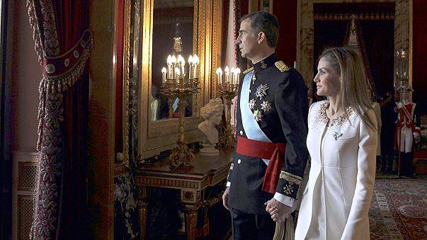 اليوم الأول للملك فيليبي السادس على عرش اسبانيا
