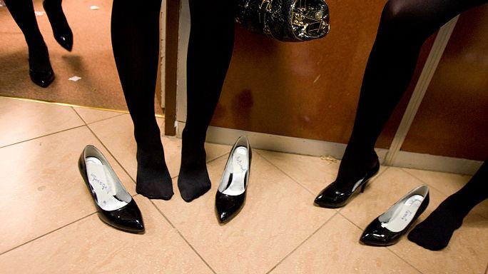 Coup de talon dans la mode russe