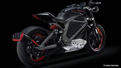 Hardly-Davidson? Famous brand reveals all-electric model