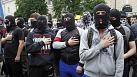 Nationalists rally in Kyiv and clash with police