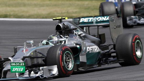 Formula 1'de Mercedes rüzgarı