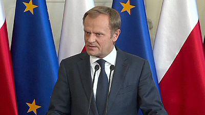 """Poland's prime minister denounces """"destabilisation attempt"""" after publication of secret recordings"""