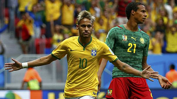 World Cup 2014: Neymar inspires Brazil to victory