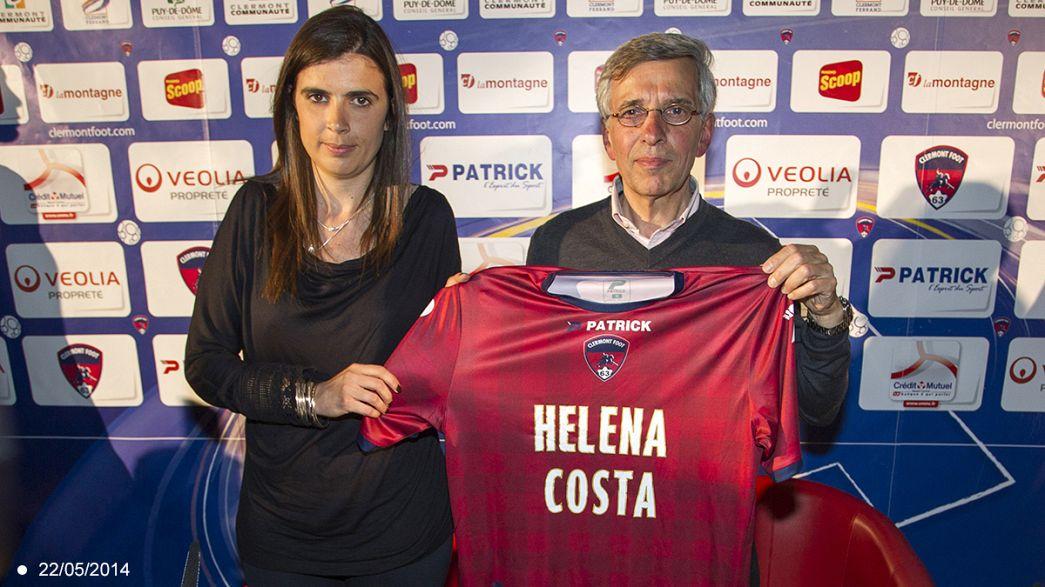Кошта отказалась стать первой женщиной-тренером мужской футбольной команды