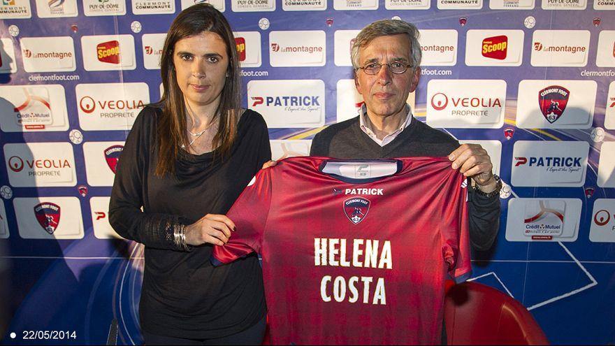 """Demissão de Helena Costa: """"É uma mulher"""", justifica o presidente do Clermont Foot 63"""