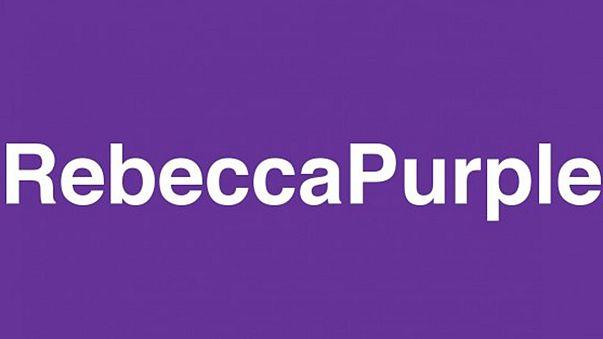 Rebeccapurple - Trauer um ein kleines Mädchen und eine neue Farbe