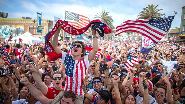 Go Team USA! Americans are getting crazy about football