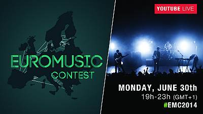 The best new European artists play live on the EuroMusic Contest final show!