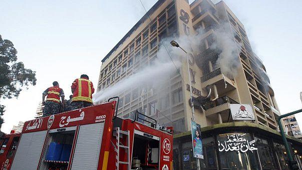 بيروت: تفجير انتحاري بفندق بمنطقة الروشة اثناء مداهمة أمنية