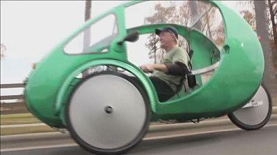 La bici/macchina chiamata Elf.