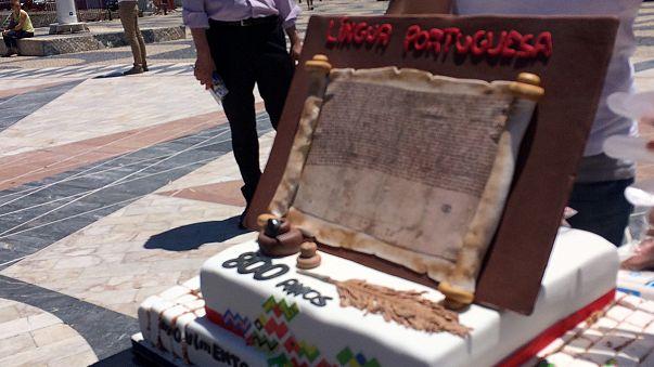 Lusofonia celebra oito séculos de escrita em português