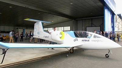 Electric aircraft takes flight