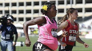 Ολυμπιονίκης έγκυος 8,5 μηνών έλαβε μέρος σε αγώνες