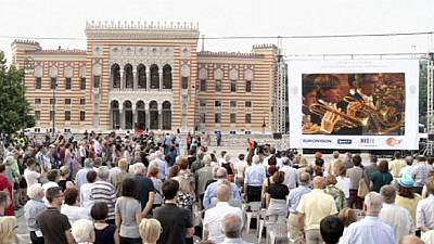 Sarajevo marks 100 years since WWI with concert