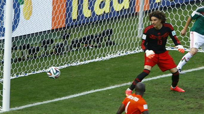 ЧМ-2014: Голландия и Коста-Рика дошли до четвертьфинала