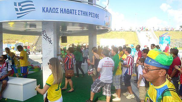 Εδώ Βραζιλία: Οι Έλληνες που... ακόμα τραγουδούν στην «Αρένα Περναμπούκο»