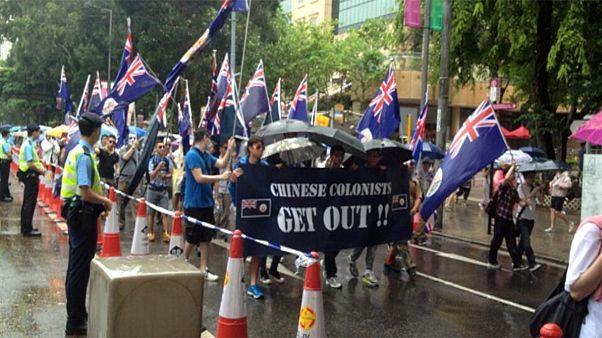 Hong Kong : des milliers de manifestants en faveur de la démocratie