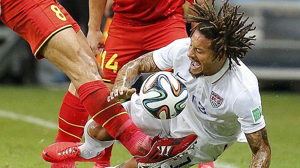 Vb-korner - Belgium és az Egyesült Államok a vb eddigi legjobb mérkőzését játszotta