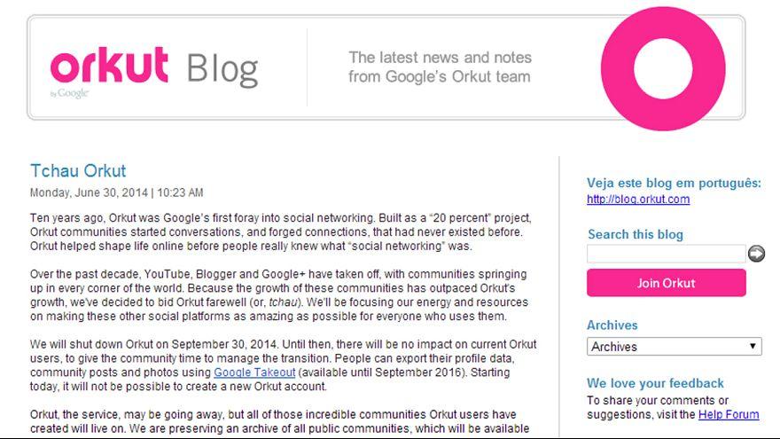 Google achève Orkut, son premier réseau social