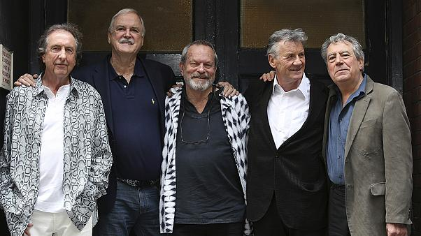 British comedy heroes Monty Python reunite for London show