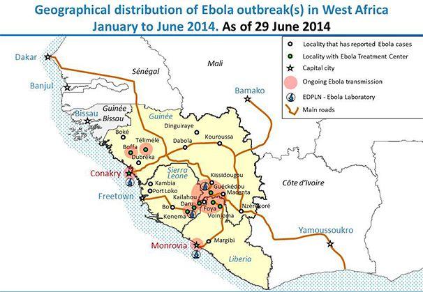 ebola world health organization map Quotes