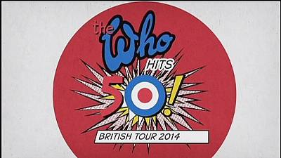 The Who hit the road to mark 50 years as a rock 'n' roll band