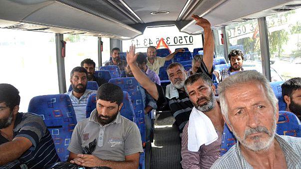 IŞİD'in kaçırdığı Türk şoförler serbest