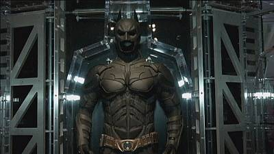 How do they chose who plays Batman in the movies? 'He has to fit in the suit'