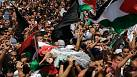 Thousands attend the funeral of murdered Palestinian teenager Mohammed Abu Khdeir