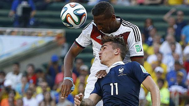 Germany and Brazil reach World Cup semis