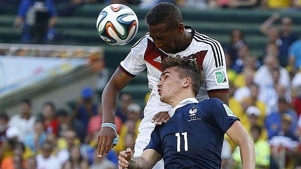Fußball-WM: Deutschland steht im Halbfinale, Brasilien ohne Neymar