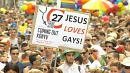 Thousands take to the streets of Budapest of annual Gay Pride