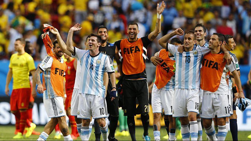 """Argentina y Holanda terminan con el sueño de los """"diablos rojos"""" y los """"ticos"""" en el Mundial"""