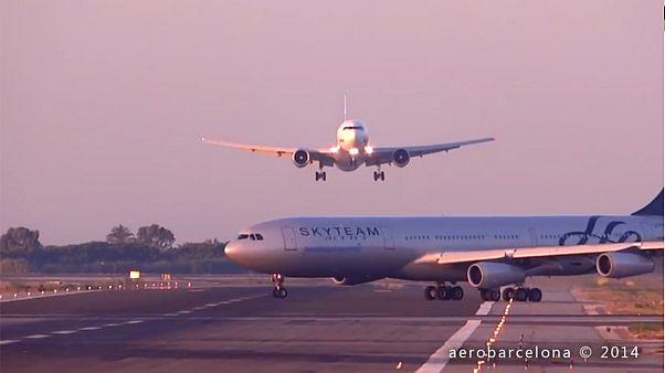 ¿Una tragedia evitada en el aeropuerto de El Prat o un ángulo engañoso?