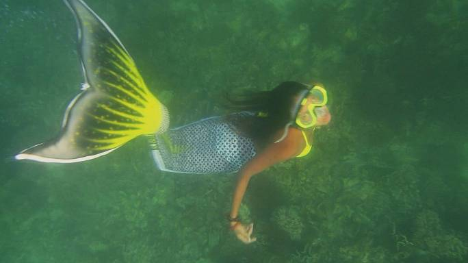 Enjoying summer with mermaids, movies and menus