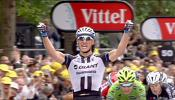 Kittel claims second stage win of Tour de France