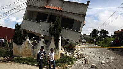 At least five die after earthquake rocks Guatemala and Mexico